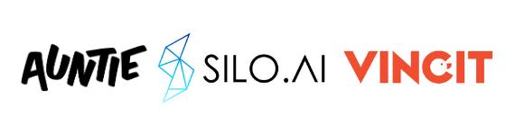 Auntie - Silo.ai - Vincit webinaari logot